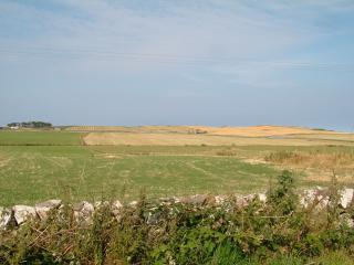 View NW over the Machars from Isle of Whithorn