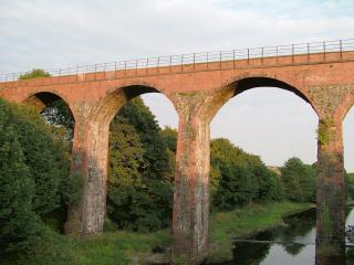 Viaduct over Water of Luce above Glenluce
