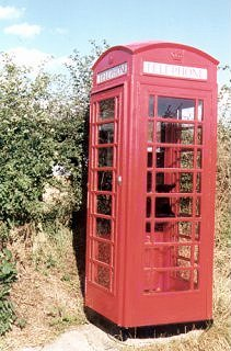 Telephone Box, Peaston Bank