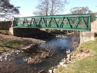 Bridge over Water of May near Forteviot