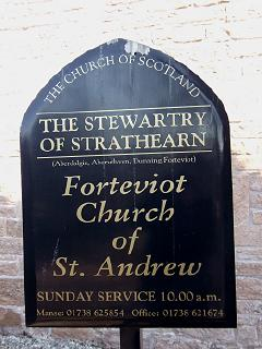 The Stewartry of Strathearn: Forteviot Church of St Andrew