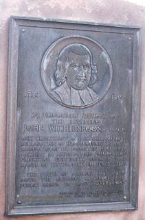 Monument to John Witherspoon, Gifford