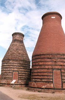 Bottle Kilns: remnants of A.W. Buchan & Co., Pottery Factory, Portobello