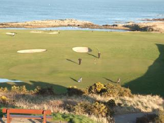 Crail Golfing Society's Balcomie Links Course on Fife Ness