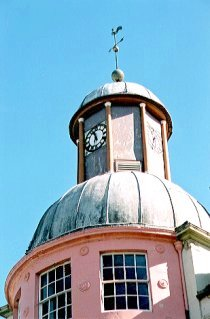 Dome and Clock Tower, Cupar Town House, (1815-17)