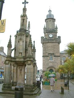 Mercat Cross & Tolbooth, Forres