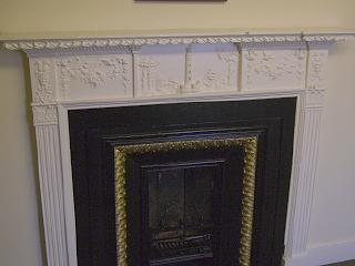 Sculpted Fireplace, Ravelston House
